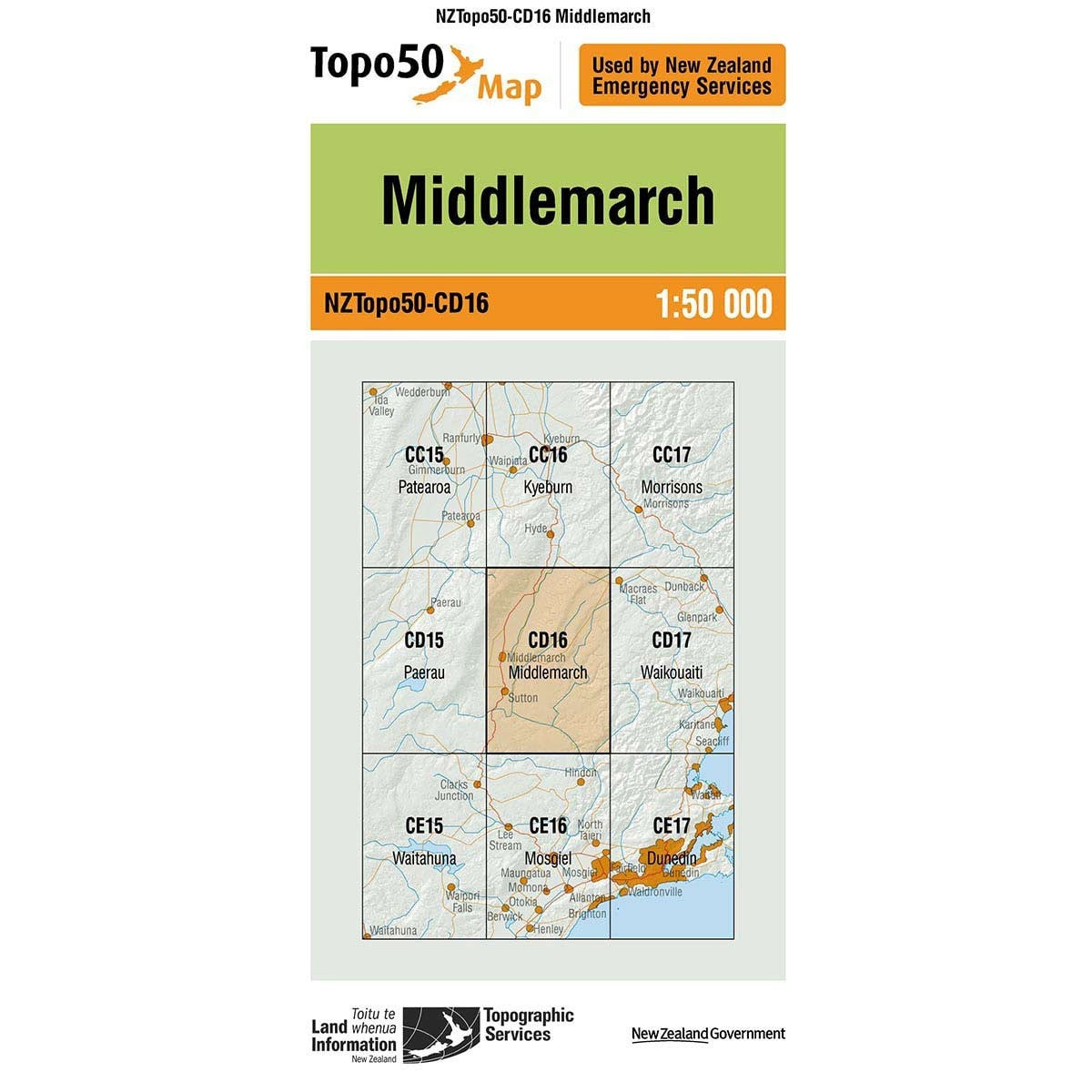 Topo50 CD16 Middlemarch