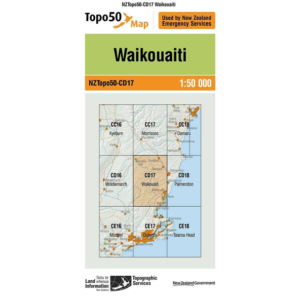 Buy Topo50 CD17 Waikouaiti NZ | NZ's Best Trail Running and Crossfit | Highbeam.co.nz - Get out there and go for a run!