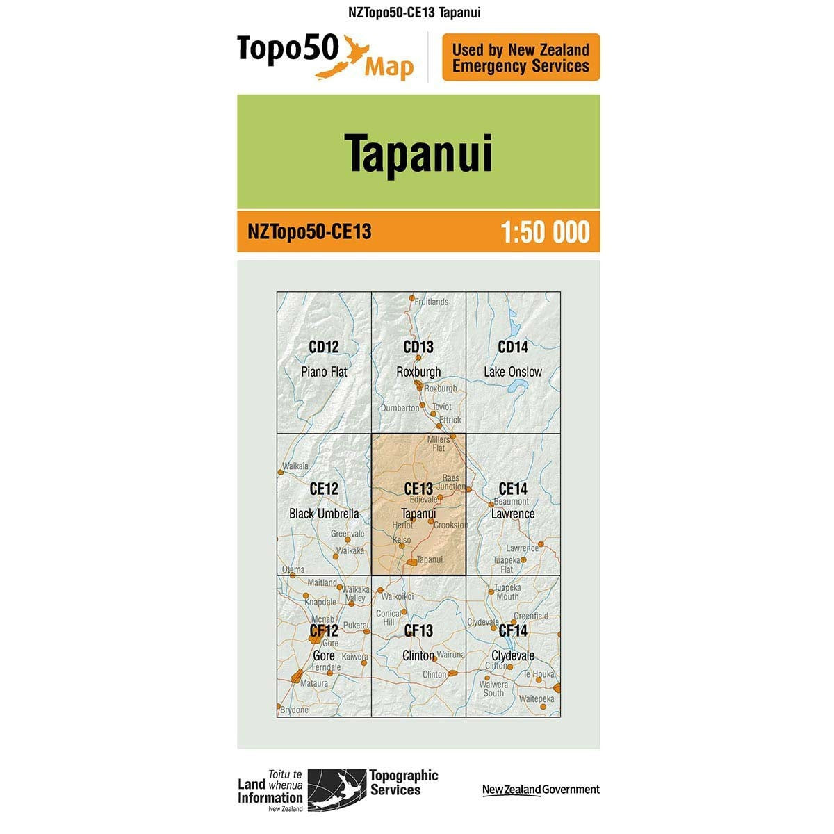 Buy Topo50 CE13 Tapanui NZ | NZ's Best Trail Running and Crossfit | Highbeam.co.nz - Get out there and go for a run!