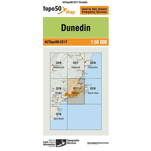 Buy Topo50 CE17 Dunedin NZ | NZ's Best Trail Running and Crossfit | Highbeam.co.nz - Get out there and go for a run!