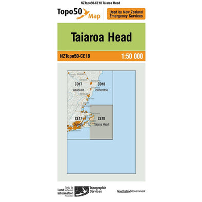 Buy Topo50 CE18 Taiaroa Head NZ | NZ's Best Trail Running and Crossfit | Highbeam.co.nz - Get out there and go for a run!