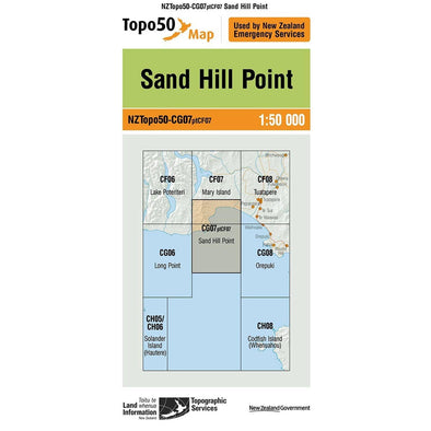 Buy Topo50 CG07 Sand Hill Point NZ | NZ's Best Trail Running and Crossfit | Highbeam.co.nz - Get out there and go for a run!