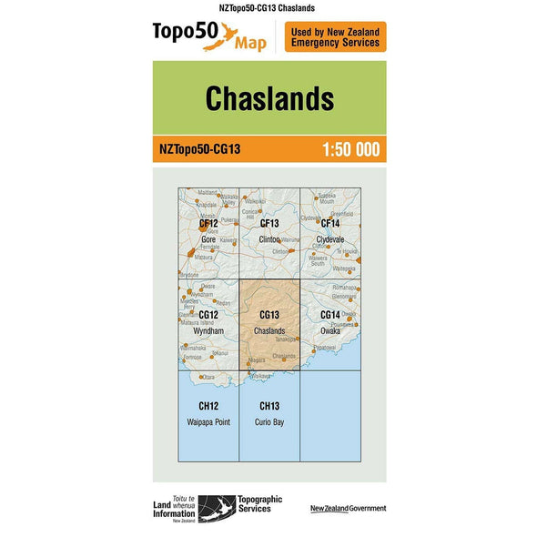 Buy Topo50 CG13 Chaslands NZ | NZ's Best Trail Running and Crossfit | Highbeam.co.nz - Get out there and go for a run!