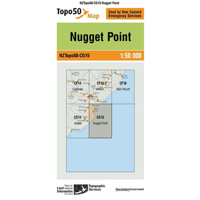 Buy Topo50 CG15 Nugget Point NZ | NZ's Best Trail Running and Crossfit | Highbeam.co.nz - Get out there and go for a run!
