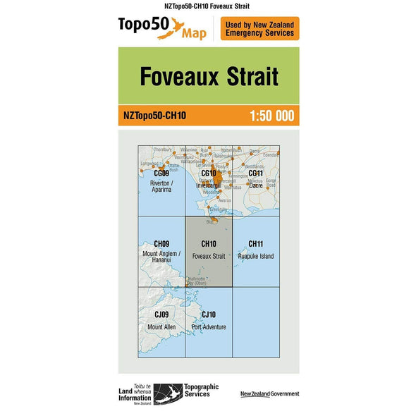 Buy Topo50 CH10 Foveaux Strait NZ | NZ's Best Trail Running and Crossfit | Highbeam.co.nz - Get out there and go for a run!