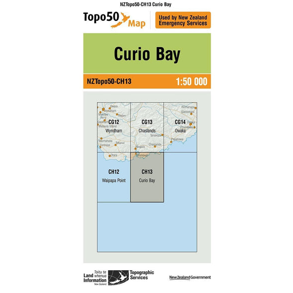 Buy Topo50 CH13 Curio Bay NZ | NZ's Best Trail Running and Crossfit | Highbeam.co.nz - Get out there and go for a run!