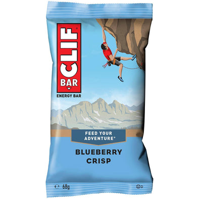Buy CLIF Bar Blueberry Crisp NZ | NZ's Best Trail Running and Crossfit | Highbeam.co.nz - Get out there and go for a run!
