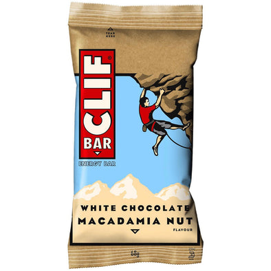 Buy CLIF Bar White Chocolate Macadamia Nut Bar NZ | NZ's Best Trail Running and Crossfit | Highbeam.co.nz - Get out there and go for a run!