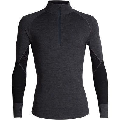 Buy Icebreaker Men's BodyfitZONE 260 Zone LS Half Zip NZ | NZ's Best Trail Running and Crossfit | Highbeam.co.nz - Get out there and go for a run!