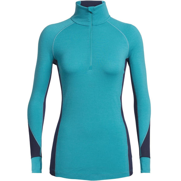 Buy Icebreaker Women's BodyfitZONE 260 Zone LS Half Zip NZ | NZ's Best Trail Running and Crossfit | Highbeam.co.nz - Get out there and go for a run!