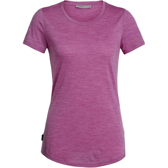 Buy Icebreaker Women's Sphere SS Low Crewe NZ | NZ's Best Trail Running and Crossfit | Highbeam.co.nz - Get out there and go for a run!