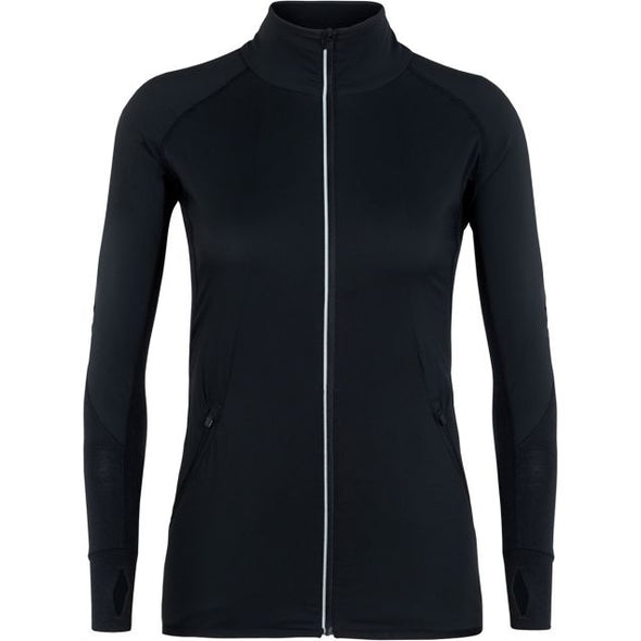 Buy Icebreaker Women's Tech Trainer Hybrid Jacket NZ | NZ's Best Trail Running and Crossfit | Highbeam.co.nz - Get out there and go for a run!
