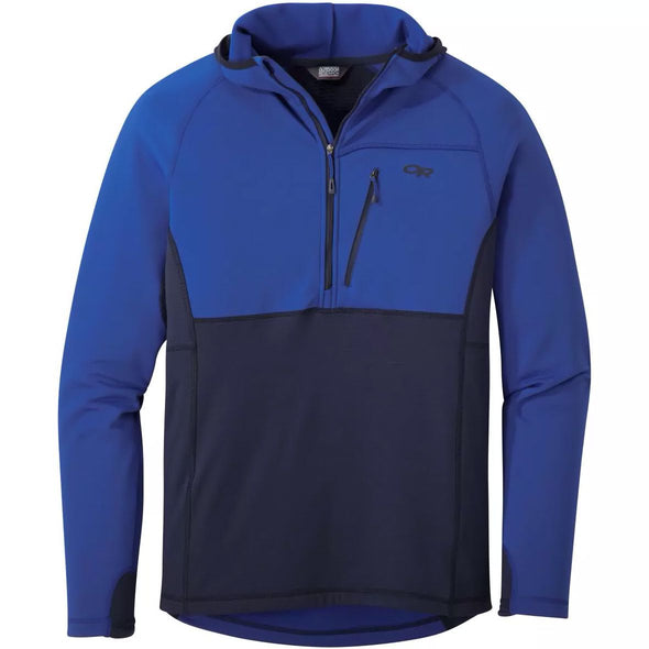Buy Outdoor Research Men's Vigor Half Zip Hoody NZ | NZ's Best Trail Running and Crossfit | Highbeam.co.nz - Get out there and go for a run!