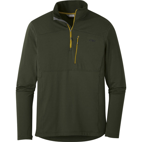 Buy Outdoor Research Men's Vigor Quarter Zip NZ | NZ's Best Trail Running and Crossfit | Highbeam.co.nz - Get out there and go for a run!