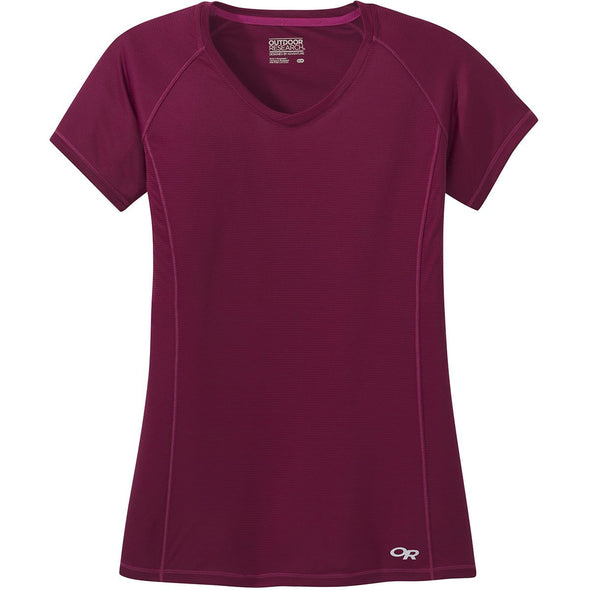 Buy Outdoor Research Women's Echo SS Tee NZ | NZ's Best Trail Running and Crossfit | Highbeam.co.nz - Get out there and go for a run!
