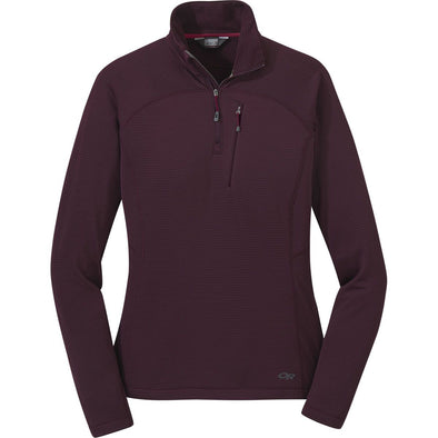Buy Outdoor Research Women's Vigor Quarter Zip NZ | NZ's Best Trail Running and Crossfit | Highbeam.co.nz - Get out there and go for a run!