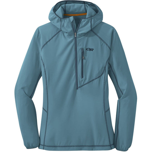 Buy Outdoor Research Women's Whirlwind Hoody NZ | NZ's Best Trail Running and Crossfit | Highbeam.co.nz - Get out there and go for a run!