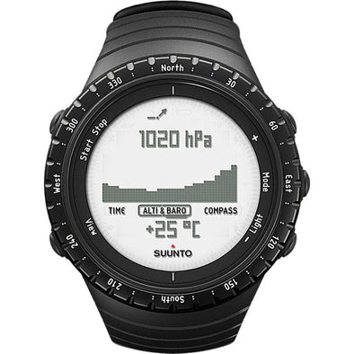 Buy Suunto Core Regular Black Altimeter Watch NZ | NZ's Best Trail Running and Crossfit | Highbeam.co.nz - Get out there and go for a run!