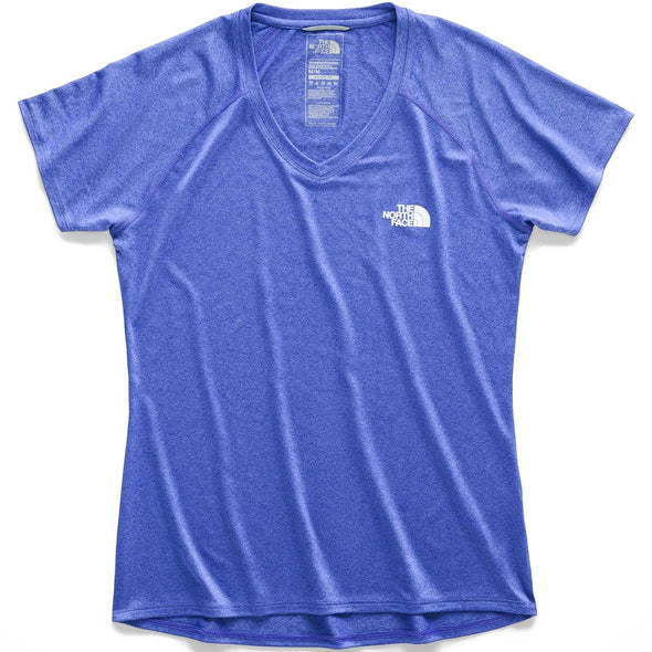 Buy The North Face Women's Reaxion AMP SS V-Neck Tee NZ | NZ's Best Trail Running and Crossfit | Highbeam.co.nz - Get out there and go for a run!