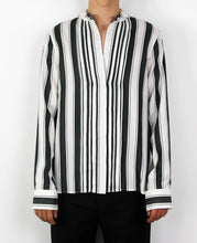 Load image into Gallery viewer, Striped Silk Shirt