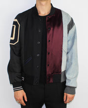 Load image into Gallery viewer, Artisanal Patchwork Runway Bomber Jacket