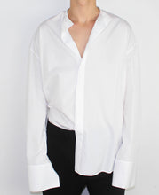 Load image into Gallery viewer, Oversized Mandarin Collar Shirt