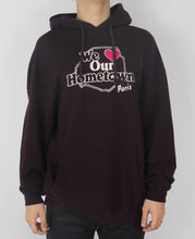 Load image into Gallery viewer, Burgundy Paris Hoodie