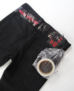 Regular Fit Patch Denim With Tape