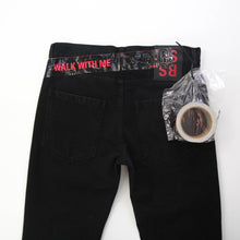 Load image into Gallery viewer, Regular Fit Patch Denim With Tape