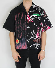 Load image into Gallery viewer, Split Shortsleeve Bowling Shirt