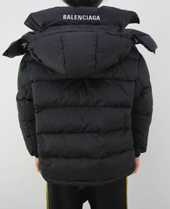 Swing Logo Puffer Black