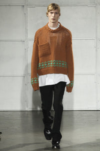 Oversized Runway Knit Sweater