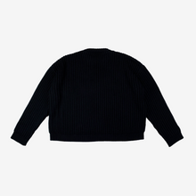 Load image into Gallery viewer, Jaws Distressed Knit Sweater