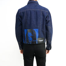 Load image into Gallery viewer, Sandra Brant Screenprint Denim Jacket