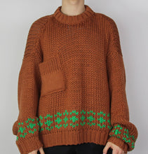 Load image into Gallery viewer, Oversized Runway Knit Sweater