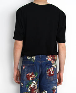 Gucci  ´´l aveugle par amour´´embroidered T-Shirt