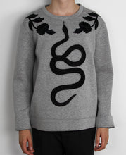Load image into Gallery viewer, Snake Embroidered Sweatshirt