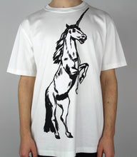 Load image into Gallery viewer, White Unicorn T-Shirt