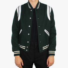 Load image into Gallery viewer, Forest Green Teddy Jacket