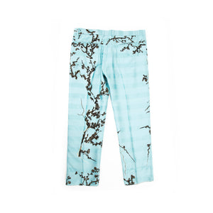 FW18 Light Blue Embroidered Trousers
