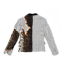 Load image into Gallery viewer, FW17 Cashmere Velvet Leopard Sample Blazer