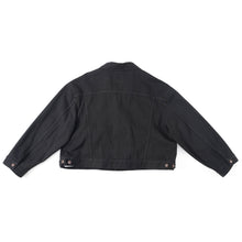 Load image into Gallery viewer, Swing Denim Jacket Black