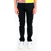 Load image into Gallery viewer, 003 Skinny Low Waisted Black Denim