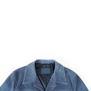 Blue Suede Jacket