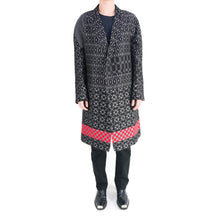 Load image into Gallery viewer, Oversized Jacquard Coat