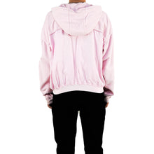 Load image into Gallery viewer, SS17 Pink Raw Edge Hoodie