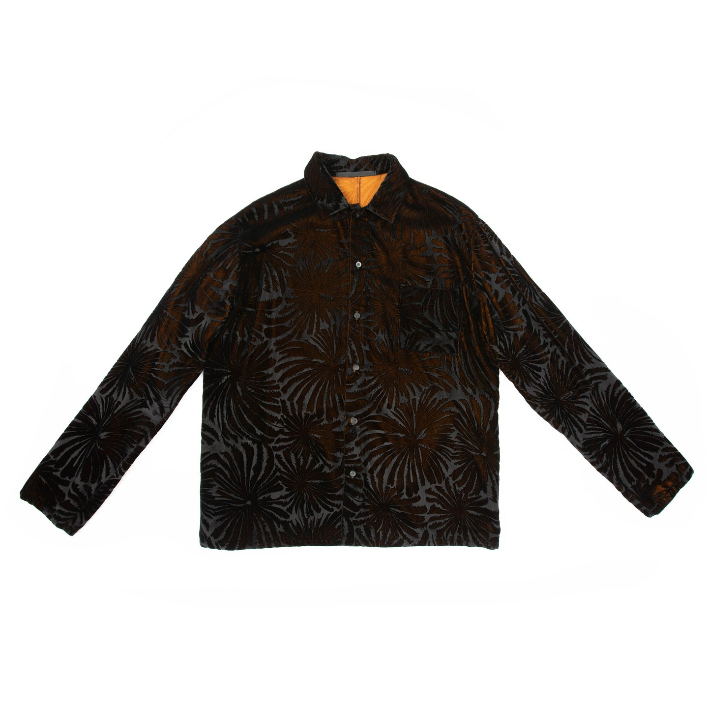 FW18 Velvet Palm Tree Shirt