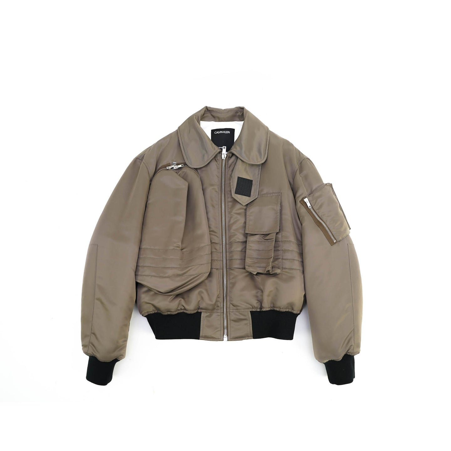3D Pocket Flight Bomber Jacket