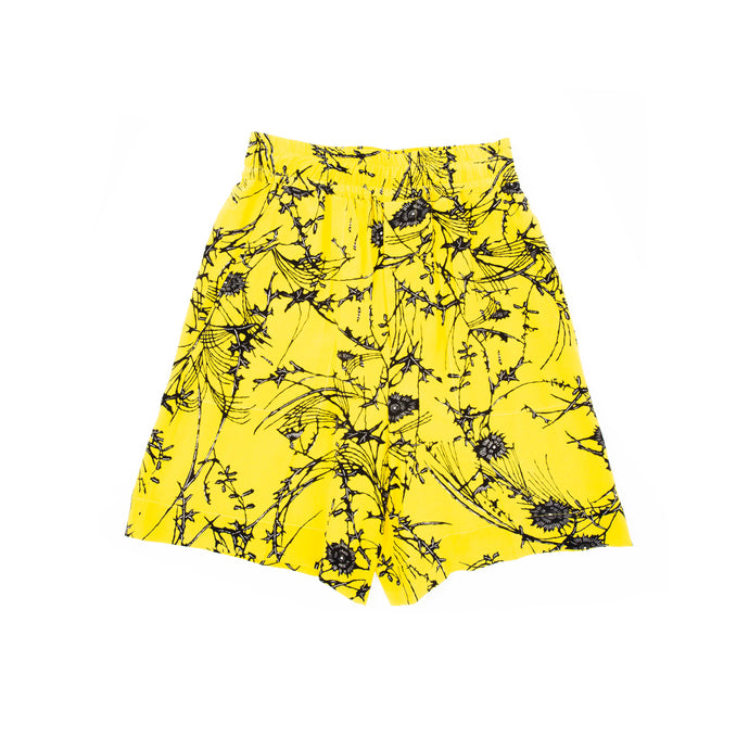 SS17 Yellow Floral Boxershorts Sample