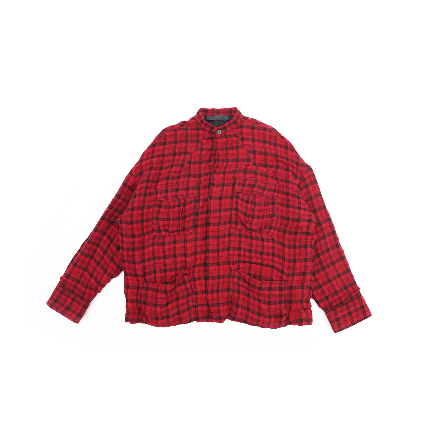 FW17 Quilted Red Runway Sample Shirt